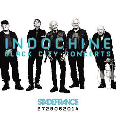Indochine BLACK CITY CONCERTS Vinyl Record