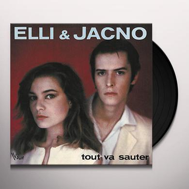 Elli & Jacno TOUT VA SAUTER Vinyl Record