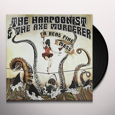 HARPOONIS / AXE MURD REAL FINE MESS (2LP) Vinyl Record - Canada Import