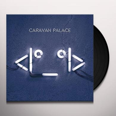 Caravan Palace ROBOT FACE Vinyl Record - UK Import