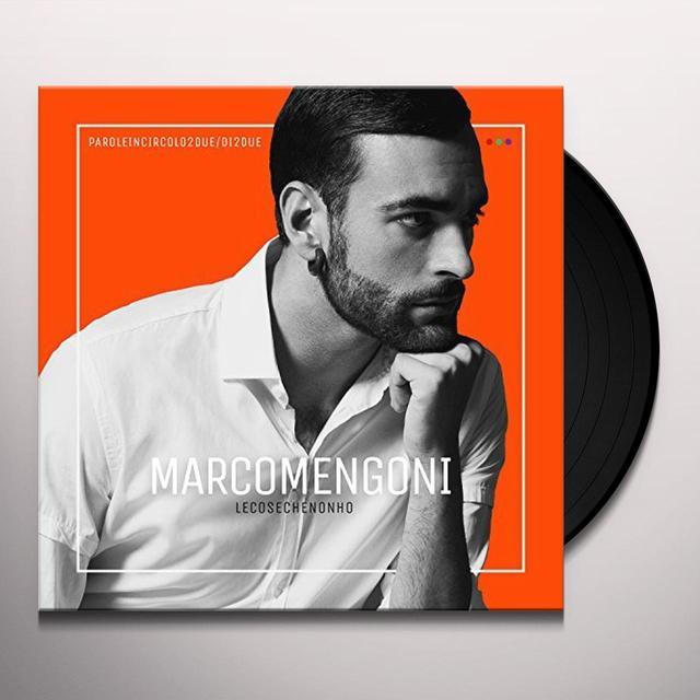 Marco Mengoni LE COSE CHE NON HO Vinyl Record - Italy Import