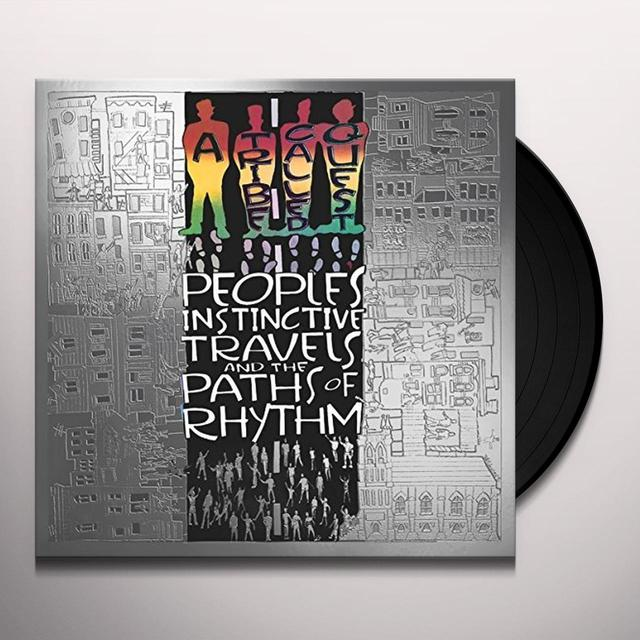 A Tribe Called Quest PEOPLE'S INSTINCTIVE TRAVELS & THE PATHS OF RHYTHM Vinyl Record