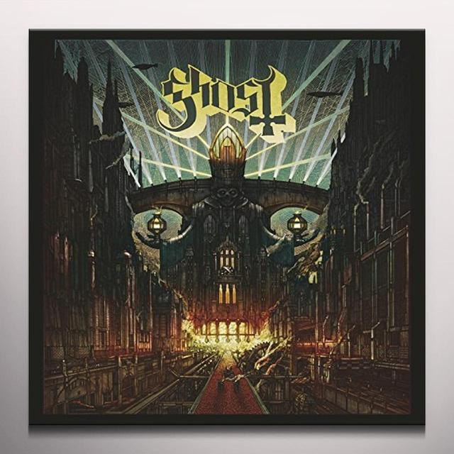 Ghost MELIORA (RED VINYL) Vinyl Record - Colored Vinyl, Limited Edition, Red Vinyl, UK Import