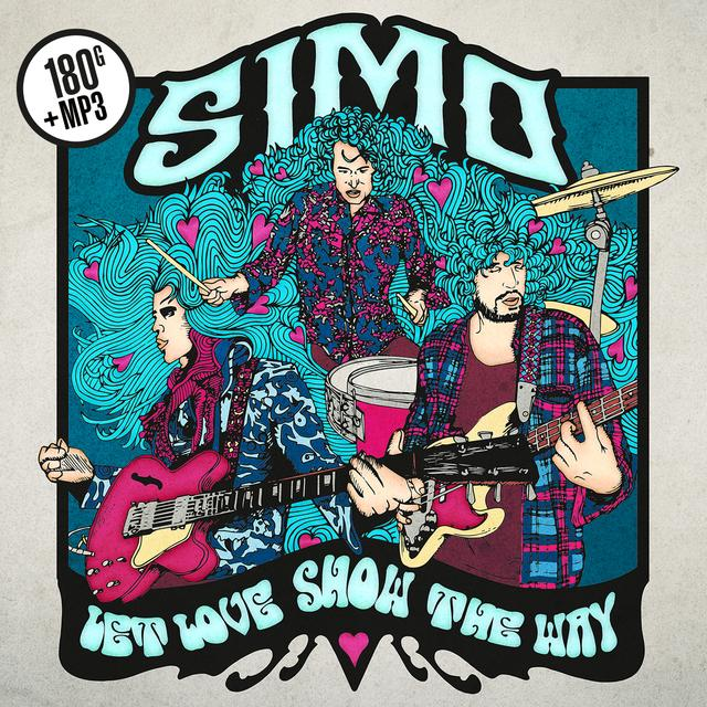 Simo LET LOVE SHOW THE WAY Vinyl Record - UK Release