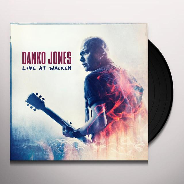 Danko Jones LIVE AT WACKEN Vinyl Record - UK Import