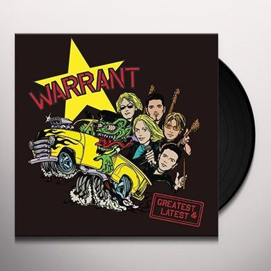 Warrant GREATEST & LATEST Vinyl Record