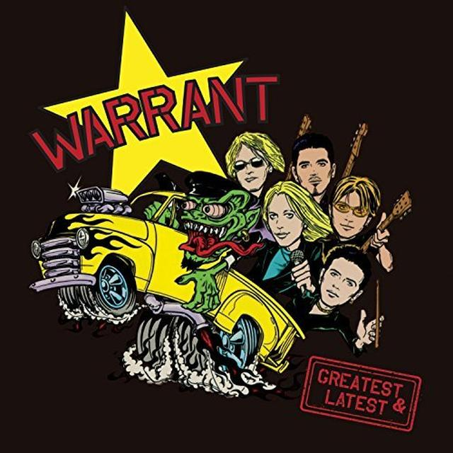 Warrant GREATEST & LATEST Vinyl Record