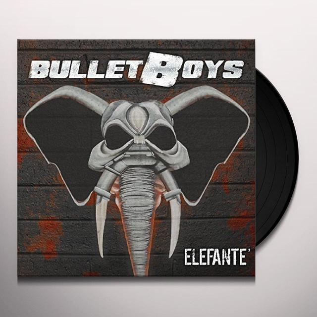Bulletboys ELEFANTE Vinyl Record