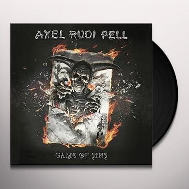 Axelrudi Pell GAME OF SINS Vinyl Record
