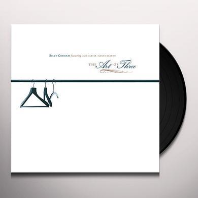 Billy Cobham ART OF THREE Vinyl Record