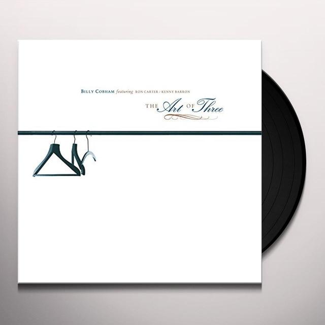 Billy Cobham ART OF THREE Vinyl Record