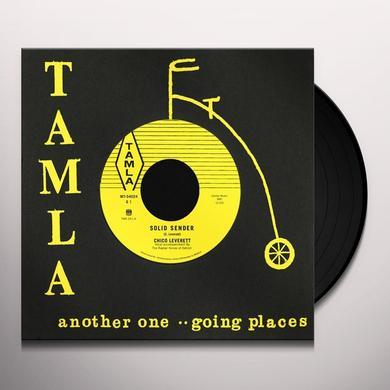 Chico Leverett SOLID SENDER / I'LL NEVER LOVE AGAIN Vinyl Record