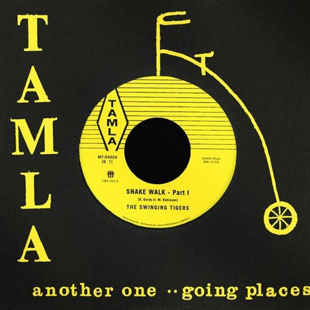 Swinging Tigers SNAKE WALK (PART 1) / SNAKE WALK (PART 2) Vinyl Record