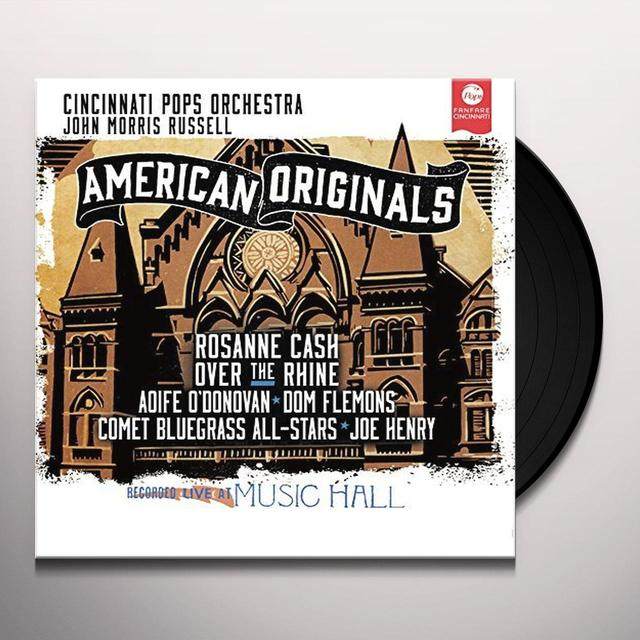 FOSTER / CINCINNATI POPS ORCHESTRA / RUSSELL AMERICAN ORIGINALS Vinyl Record