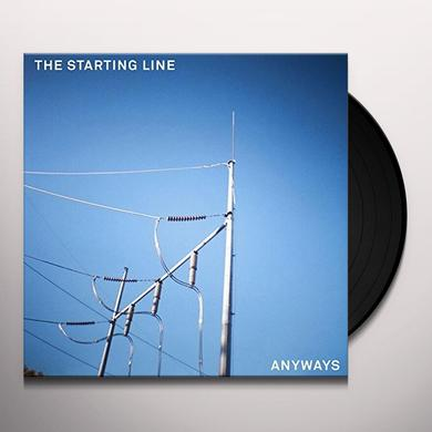 The Starting Line ANYWAYS Vinyl Record