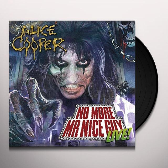 Alice Cooper NO MORE MISTER NICE GUY / LIVE AT HALLOWEEN Vinyl Record