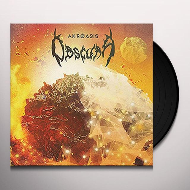 Obscura AKROASIS Vinyl Record - Gatefold Sleeve