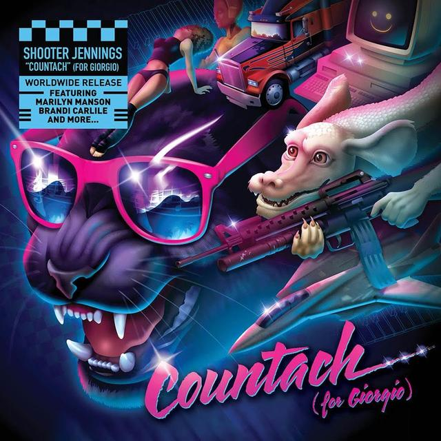 Shooter Jennings COUNTACH Vinyl Record