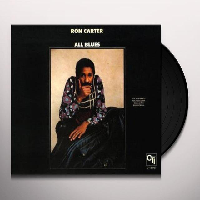 Ron Carter ALL BLUES Vinyl Record