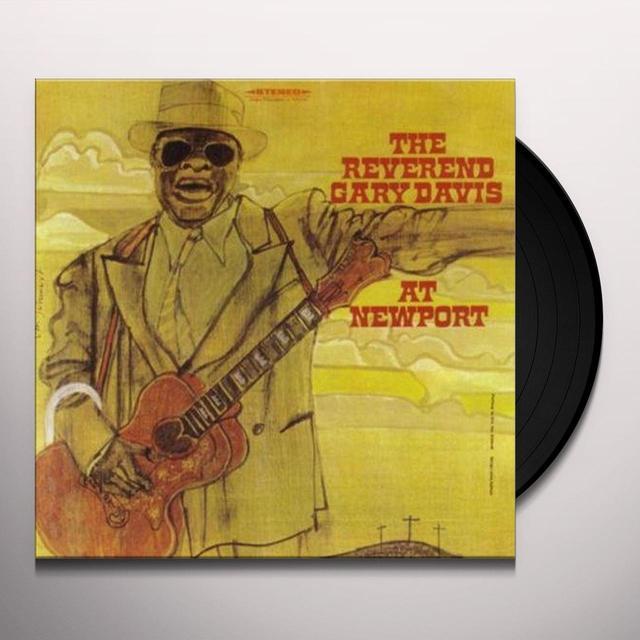 Gary Reverend Davis AT NEWPORT Vinyl Record