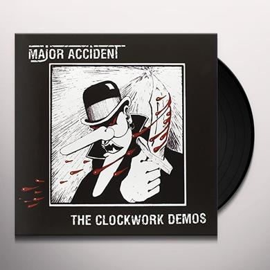 Major Accident CLOCKWORK DEMOS Vinyl Record