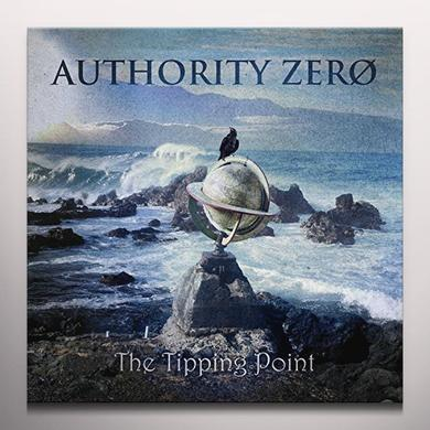 Authority Zero TIPPING POINT Vinyl Record - Colored Vinyl