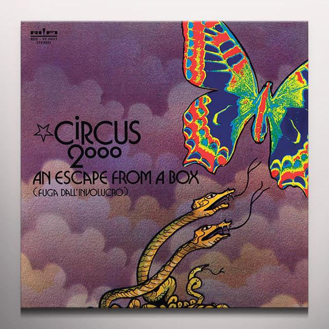 Circus 2000 ESCAPE FROM A BOX Vinyl Record - Colored Vinyl, Limited Edition, 180 Gram Pressing