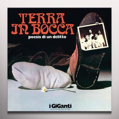 I Giganti TERRA IN BOCCA - POESIA PER UN DELITTO Vinyl Record
