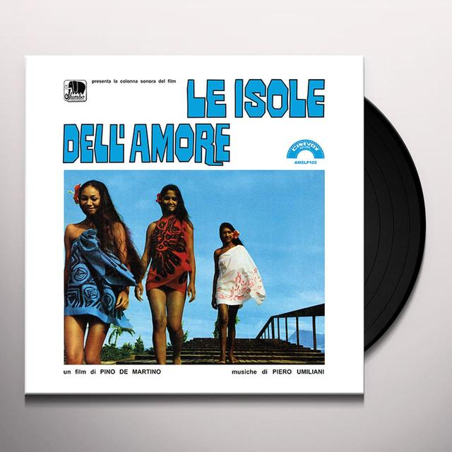 Piero Umlani LE ISOLE DELL'AMORE / O.S.T. Vinyl Record