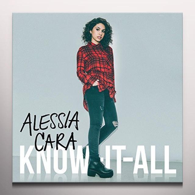 ALESSIA CARA KNOW IT ALL Vinyl Record - Colored Vinyl, Pink Vinyl