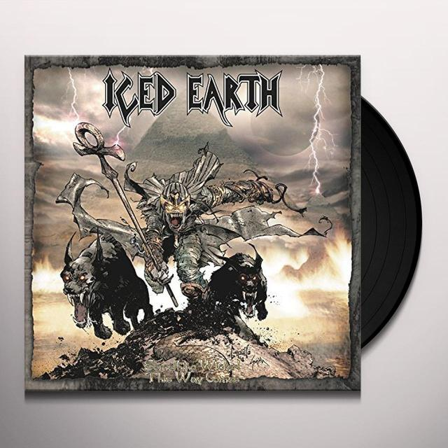 Iced Earth SOMETHING WICKED THIS WAY COMES Vinyl Record - Gatefold Sleeve, Poster