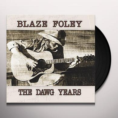 Blaze Foley DAWG YEARS Vinyl Record