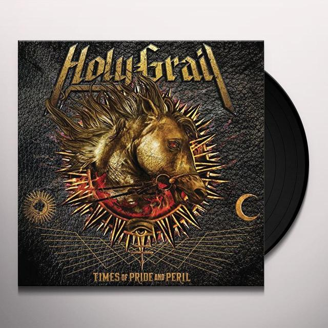 Holy Grail TIMES OF PRIDE & PERIL Vinyl Record - Gatefold Sleeve, Poster, Digital Download Included