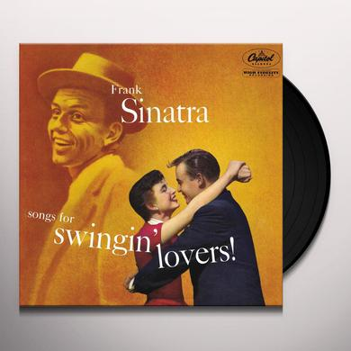 Frank Sinatra SONGS FOR SWINGIN LOVERS Vinyl Record