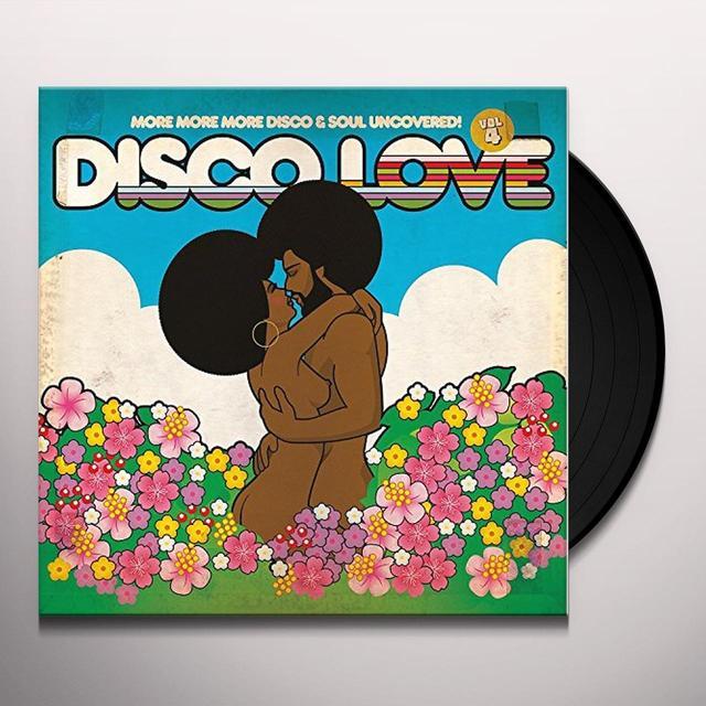 DISCO LOVE 4 / VARIOUS (GATE) DISCO LOVE 4 / VARIOUS Vinyl Record - Gatefold Sleeve