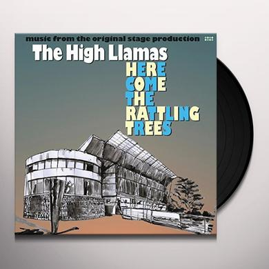 High Llamas HERE COME THE RATTLING TREES Vinyl Record