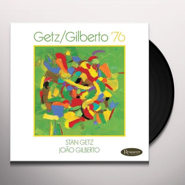 Stan Getz / Joao Gilberto GETZ/GILBERTO 76 Vinyl Record - Gatefold Sleeve