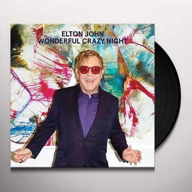 Elton John WONDERFUL CRAZY NIGHT Vinyl Record