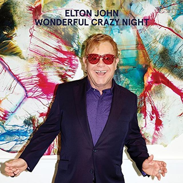 Elton John WONDERFUL CRAZY NIGHT Vinyl Record