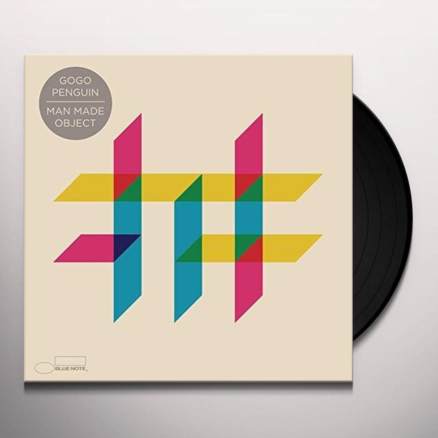 Gogo Penguin MAN MADE OBJECT Vinyl Record - Gatefold Sleeve