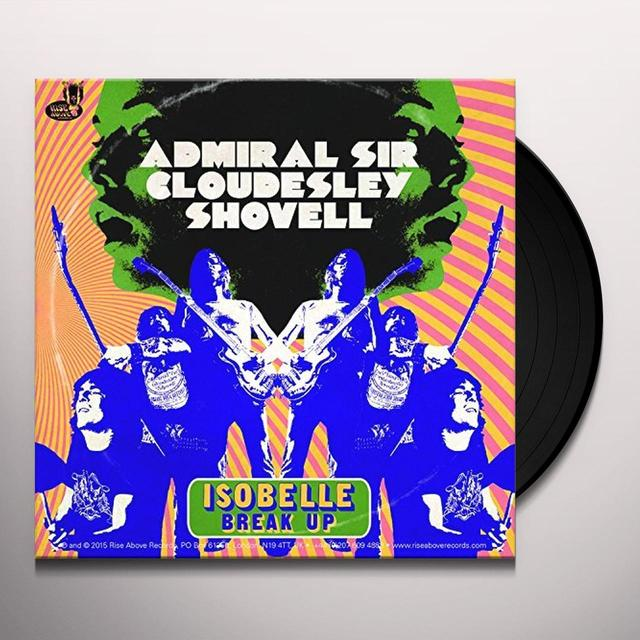 The Admiral Sir Cloudesley Shovell ISOBELLE Vinyl Record