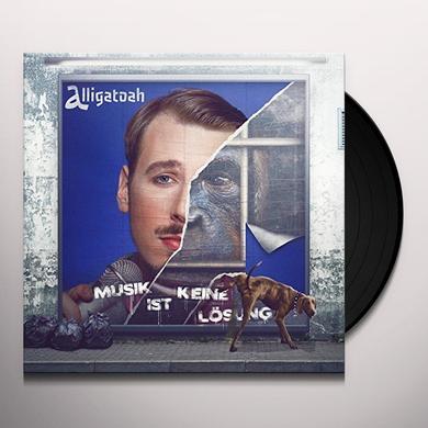 Alligatoah MUSIK IST KEINE LOESUNG  (GER) Vinyl Record - w/CD