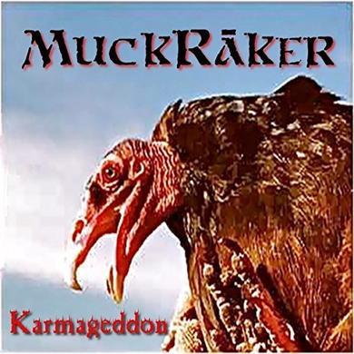 MUCKRAKER KARMAGEDDON Vinyl Record - UK Release