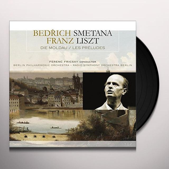 Bedrich Smetana / Franz Liszt DIE MOLDAU / LES PRELUDES Vinyl Record - Holland Import