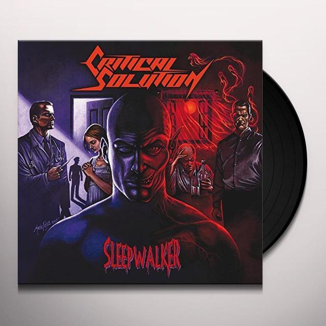 CRITICAL SOLUTION SLEEPWALKER Vinyl Record - UK Import