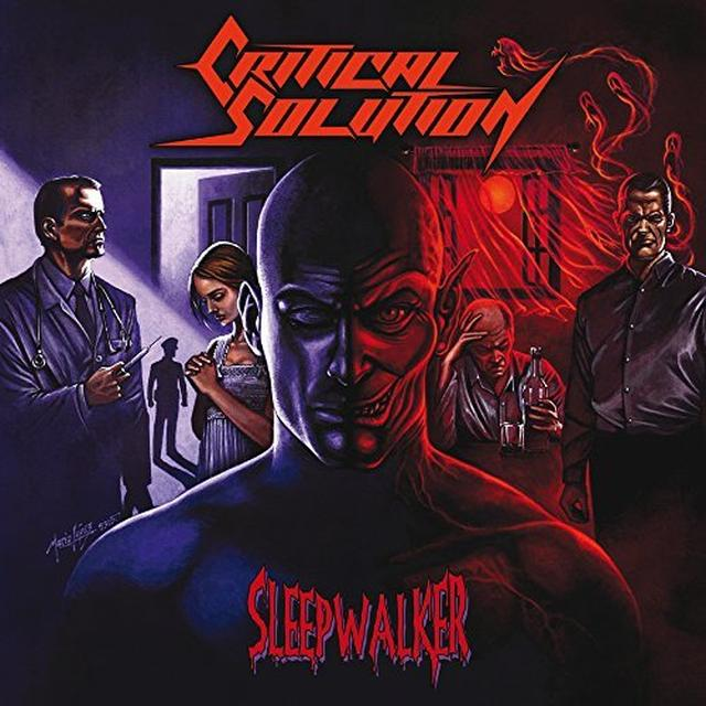 CRITICAL SOLUTION SLEEPWALKER Vinyl Record - UK Import