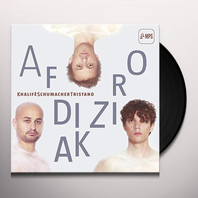Khalife Tristano Schumacher AFRODIZIAK Vinyl Record - UK Release