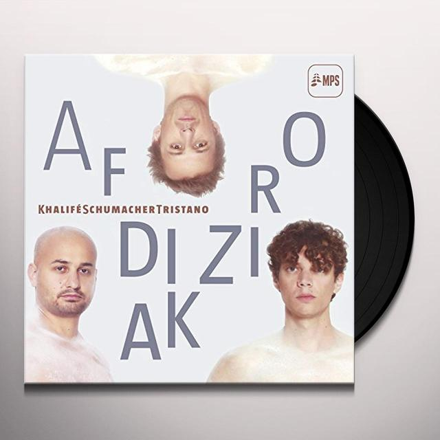 Khalife Tristano Schumacher AFRODIZIAK Vinyl Record - UK Import