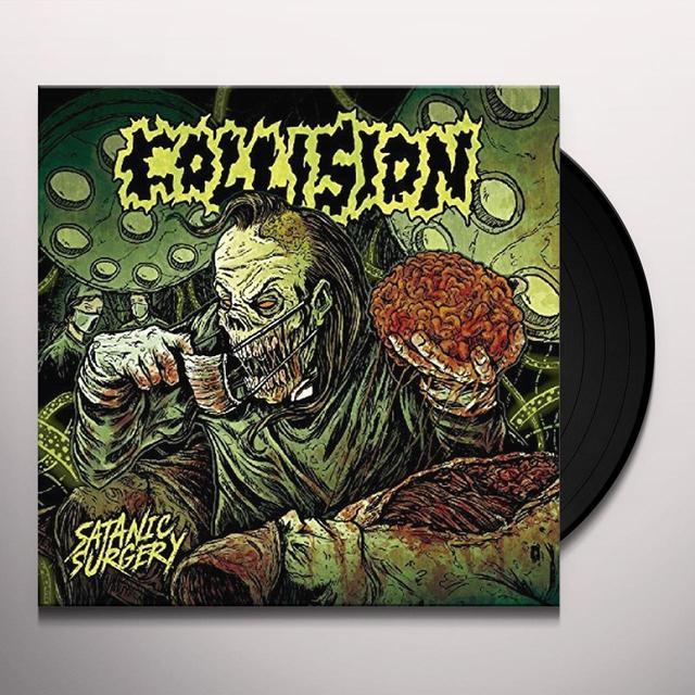 Collision SATANIC SURGERY Vinyl Record - UK Import