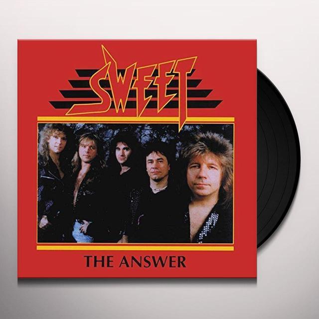 Sweet ANSWER Vinyl Record - UK Import